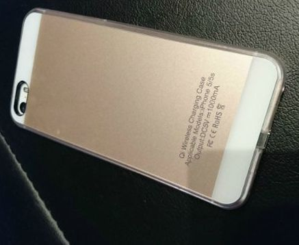 iPhone5s iPhoneSE ワイヤレス充電 qi ケース