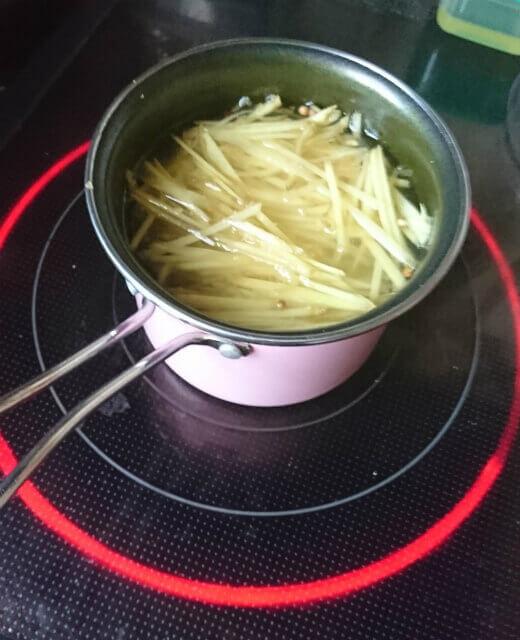 風邪予防に生姜シロップを作ってみた